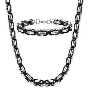 Other - Stainless steel necklace bracelet set